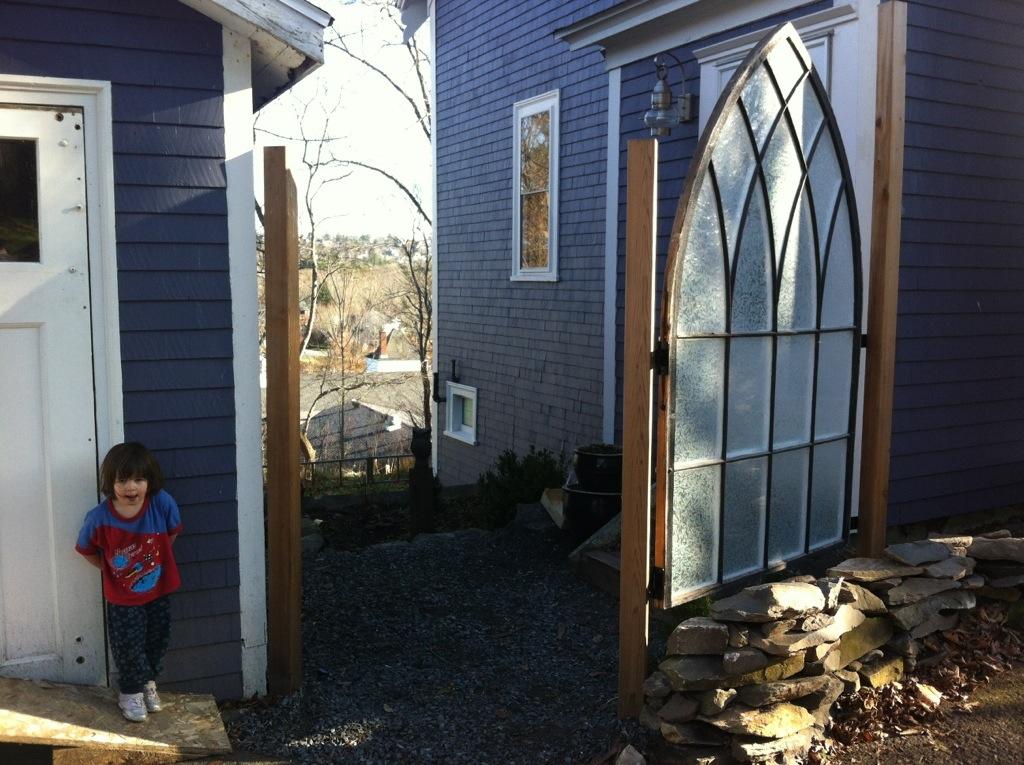 Antique Windows In The Garden Artisan Upholstery Studio