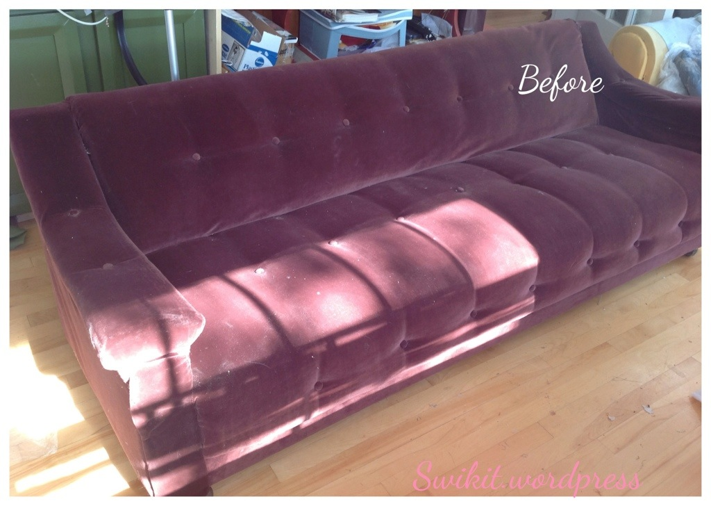High Quality Re Upholstering A Retro Sofa!