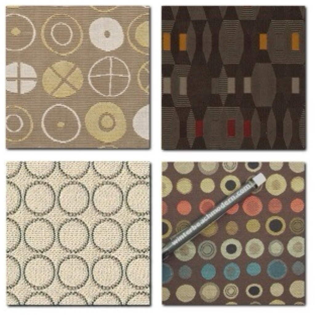 choosing fabric for your upholstery project part three mid century modern furniture artisan. Black Bedroom Furniture Sets. Home Design Ideas