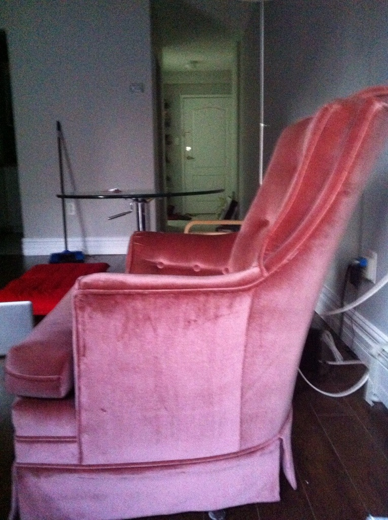 Updating an 80s Swivel Rocker – Artisan Upholstery Studio