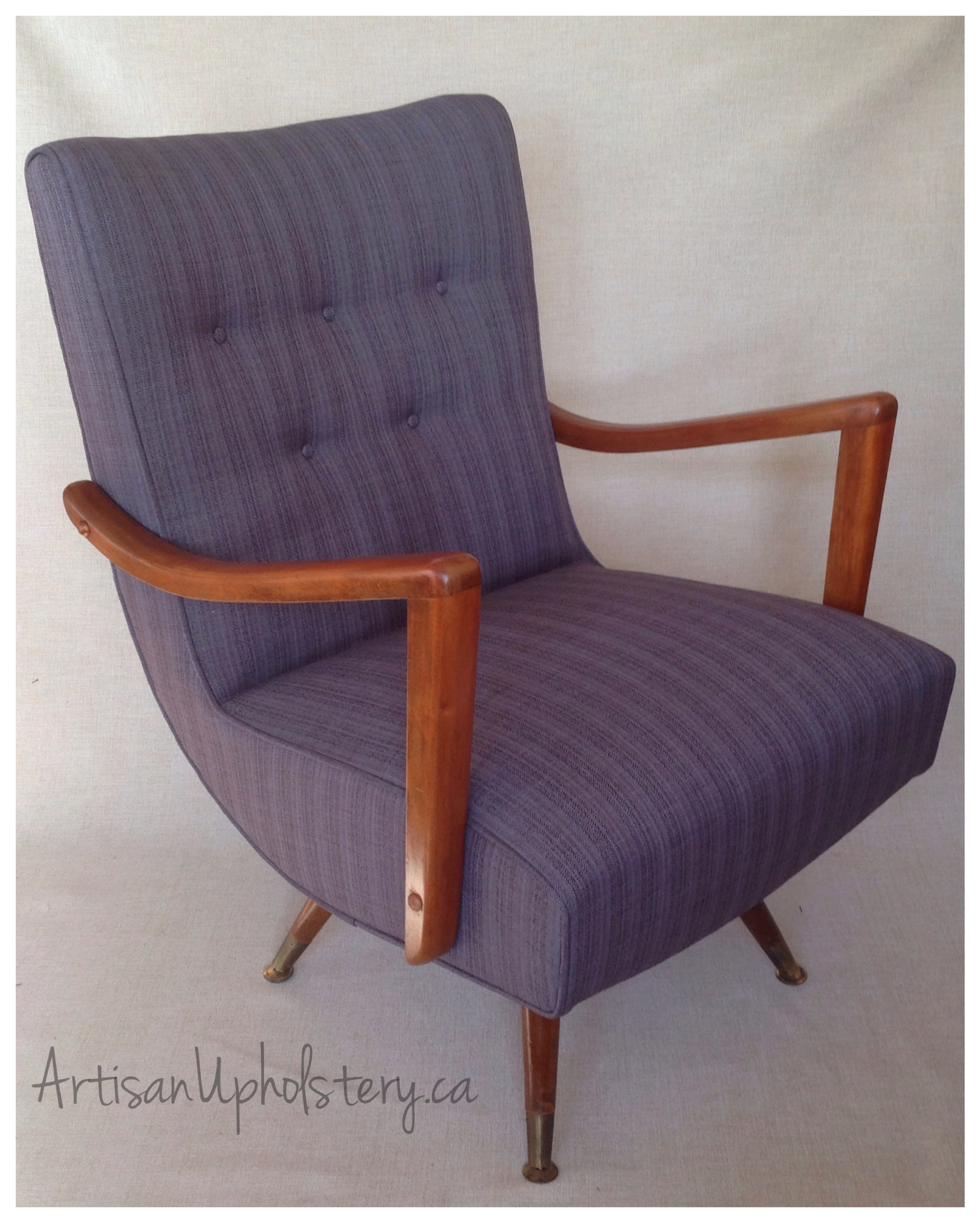 mid century swivel chair. Vintage Swivel Rocker With Elegant Curved Arms \u2013 SOLD Mid Century Chair U