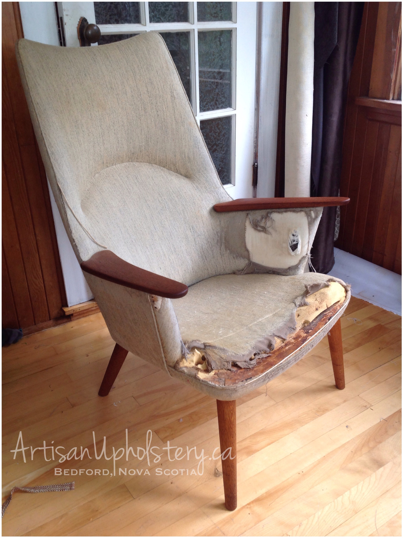 hans wegner ap 27 restoration project artisan upholstery studio