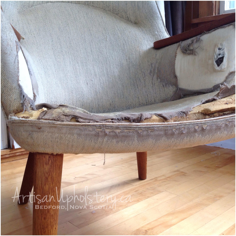 mid century modern furniture restoration. Tag: Hans Wegner, Re-Upholstery, Mid-century Modern, AP-27 Chair, Mama Bear Chair Mid Century Modern Furniture Restoration F